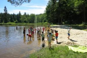 Školka v přírodě 2017 Den druhý