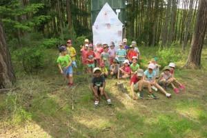 Školka v přírodě 2017 Den třetí