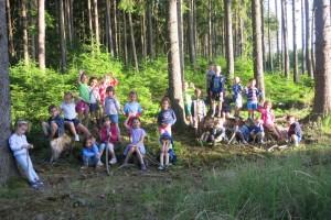 Školka v přírodě 2017 Den čtvrtý