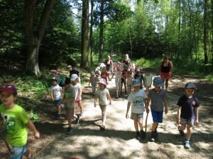Školka v přírodě 2017 Den pátý