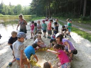 Školka v přírodě 2017 Den šestý