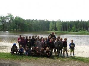 Školka v přírodě 2017 Den sedmý